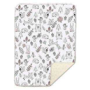 Read Reviews Kayden Woodlands Baby Blanket ByLolli Living