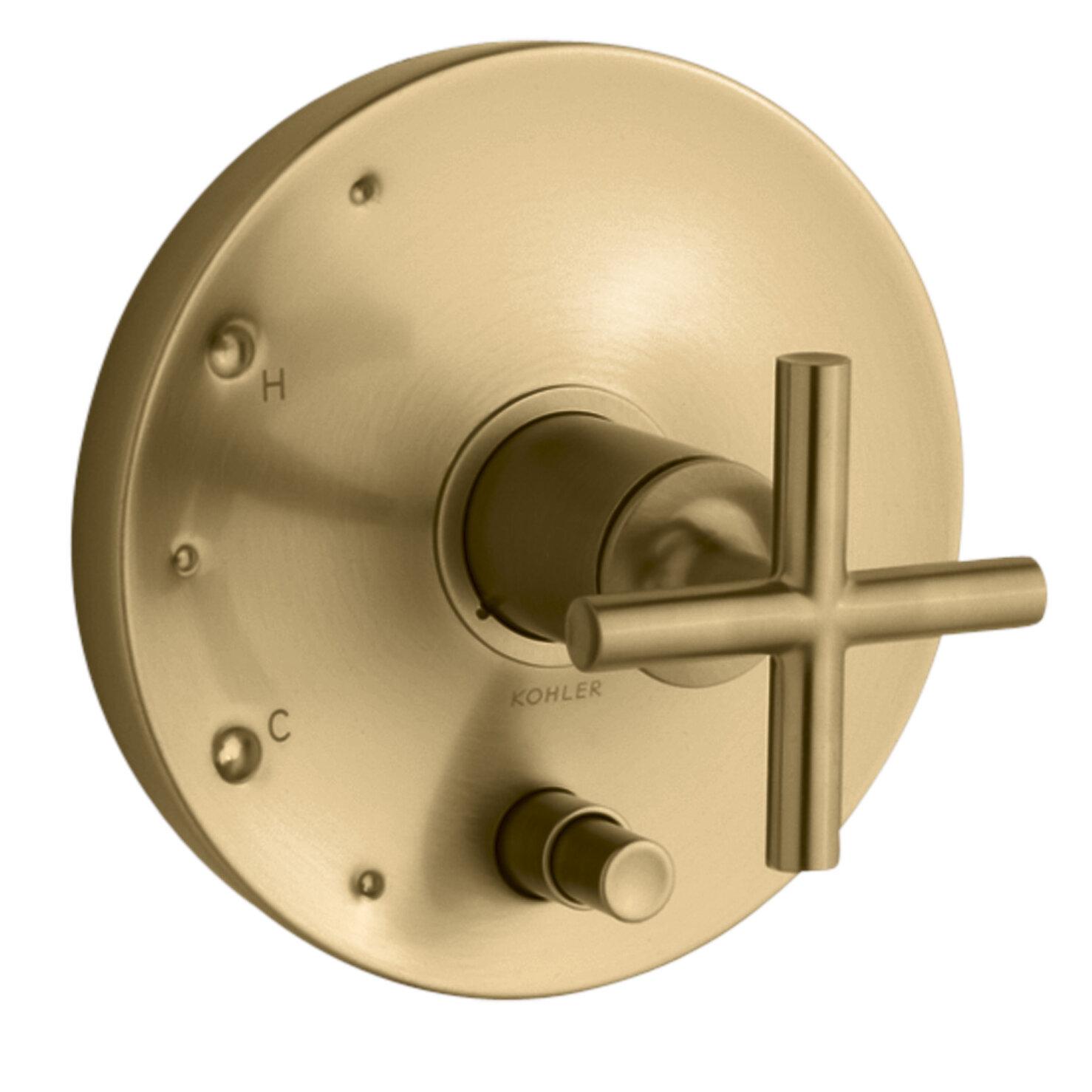 K-T14501-3-BGD,BL,BN Kohler Purist Rite-Temp Pressure-Balancing ...