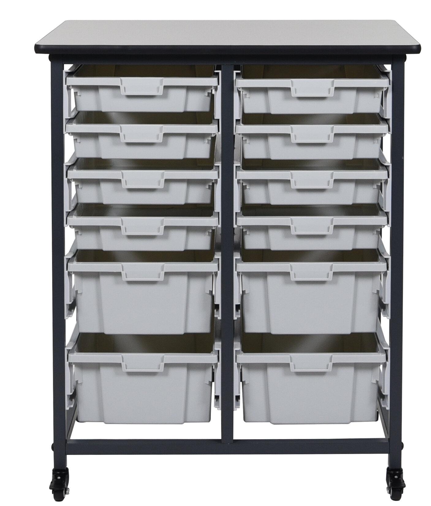 Luxor 12 Drawer Storage Chest | Wayfair