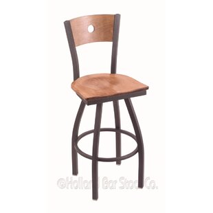 Lareau 36 Swivel Bar Stool by Red Barrel Studio Best