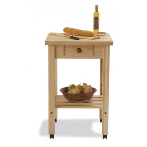 Arts and Crafts Kitchen Cart by Snow River