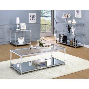 Compare Bullington 2 Piece Coffee Table Set by Orren Ellis