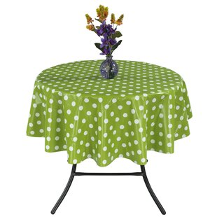 Essential Polka Dot Design Indoor/Outdoor Tablecloth