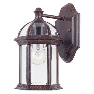 Hartshorne Glass Shade Outdoor Wall lantern