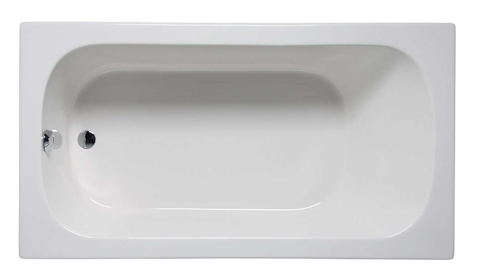 Americh Miro 66 X 32 Drop In Undermount Soaking Bathtub Wayfair