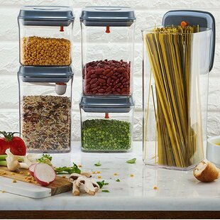 Esquivel Airtight 5 Container Food Storage Set