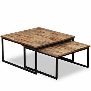 Crenshaw 2 Piece Coffee Table Set By Borough Wharf