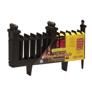 15.5 in. x 24.1 in. Deluxe Colonial Fence..