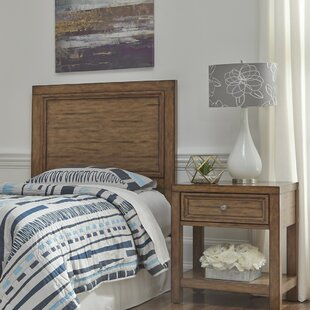 Milford Panel Headboard with Nightstand by Canora Grey