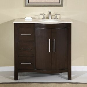 bissette 36 single bathroom vanity set
