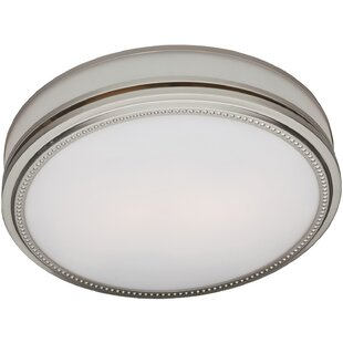 Ductless bathroom fans youll love wayfair riazzi 110 cfm bathroom fan with light aloadofball Gallery