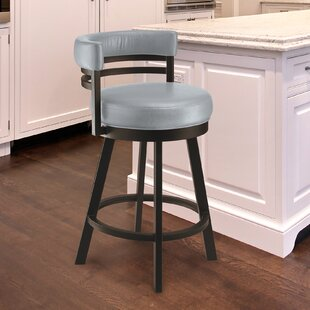 Homan 26 Swivel Bar Stool by Red Barrel Studio