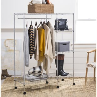 Great choice 47.2 W Clothes Rack By Rebrilliant