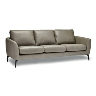 Hiott Leather Sofa