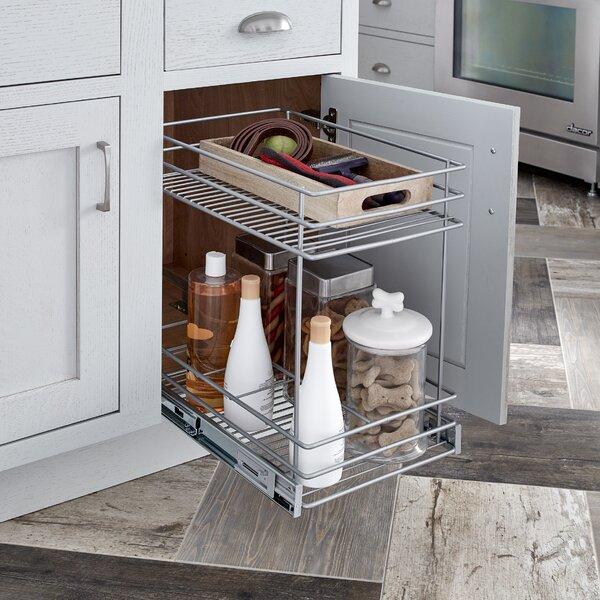 ClosetMaid 2 Tier Kitchen Cabinet Pull Out Basket & Reviews | Wayfair