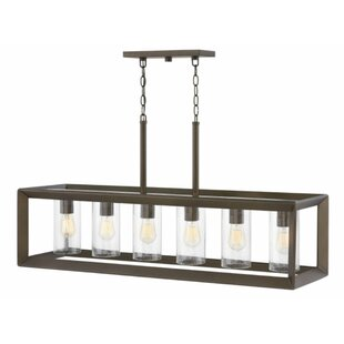 Hinkley Lighting Rhodes Linear 6-Light Outdoor Pendant