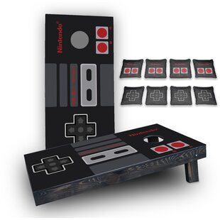 Custom Cornhole Boards Nintendo Custom 10 Piece Cornhole Board Set