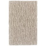 Grider Hand-Tufted Wool Ivory/Gray Area Rug byBungalow Rose