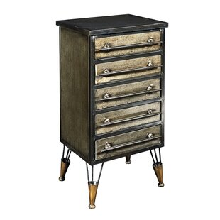 Preesall 5 Drawer Accent Chest by Williston Forge
