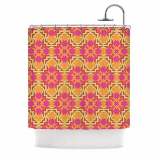 'Jazzy' Single Shower Curtain