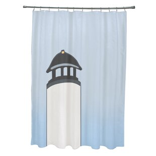 Hancock Safe Harbor Geometric Print Single Shower Curtain