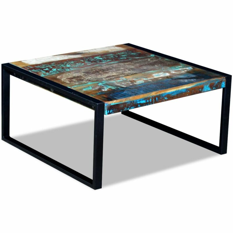 East Urban Home Spenser Sled Coffee Table Wayfair