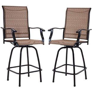 akinleye 29 5 patio bar stool set of 2