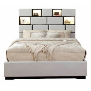 Devera Queen Upholstered StoragePlatform Bed