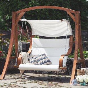 Swinging garden seat