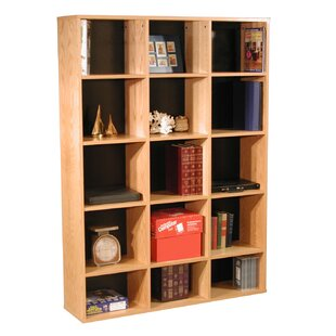 Modular Real Oak Wood Veneer Furniture Cube Unit Bookcase