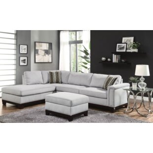 Rosdorf Park Clairsville Sectional with Ottoman