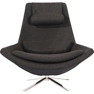 Affordable Retropolitan Swivel Lounge Chair By Kardiel
