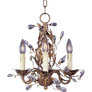 Kaiya 3-Light Candle-Style Chandelier
