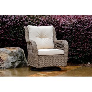 Dawn Glider Chair with Cushions by Highland Dunes