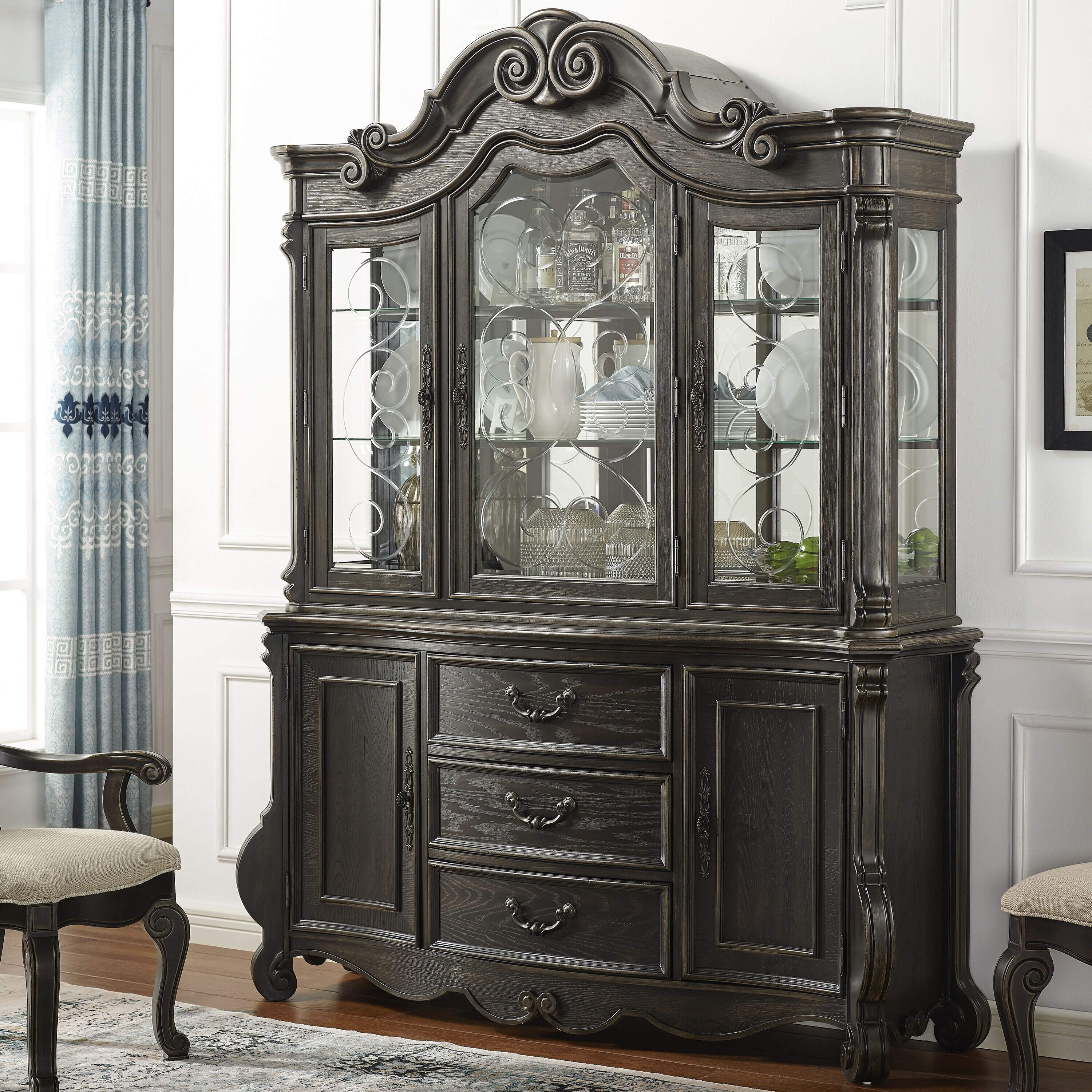 China Cabinet Astoria Grand Display China Cabinets You Ll Love In 2021 Wayfair