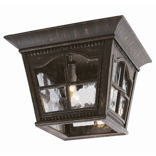 Darby Home Co Freeborn 3-Light Outdoor Flush Mount