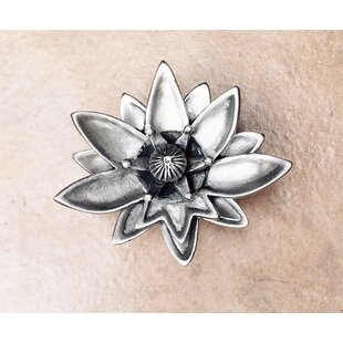 Lotus Flower Novelty Knob