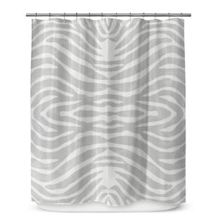 Nerbone Cotton Blend Single Shower Curtain
