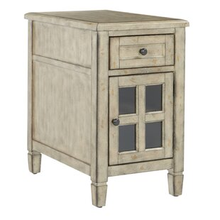 Order Zahara End Table with Storage by August Grove