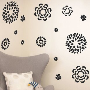 Nature flower wall decals youll love wayfair quickview mightylinksfo