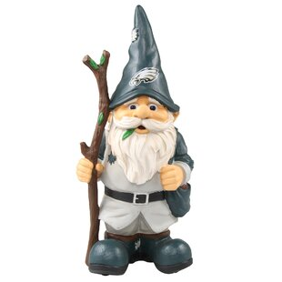 Holding Stick Gnome Statue By Forever Collectibles
