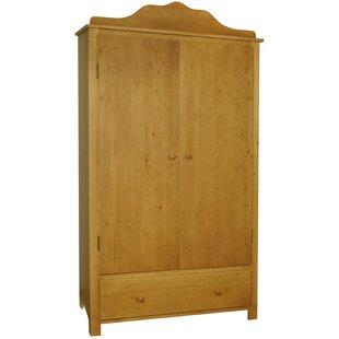 Crum 2 Door Wardrobe By Harriet Bee