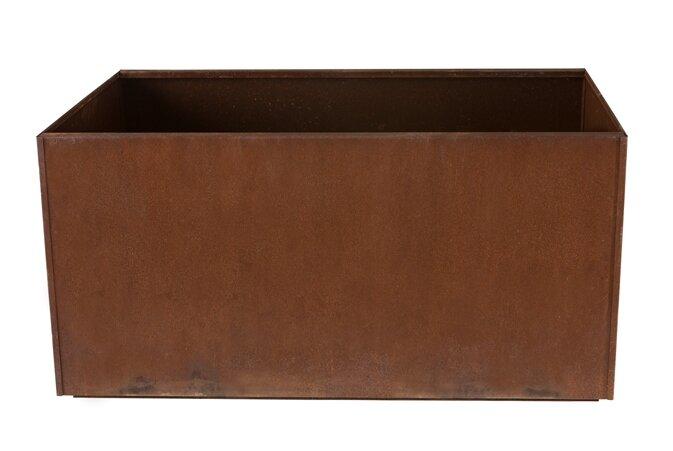 17 Stories  Elisabetta Corten Steel Planter Box
