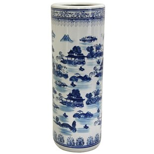 World Menagerie Lauderhill Porcelain Umbrella Stand