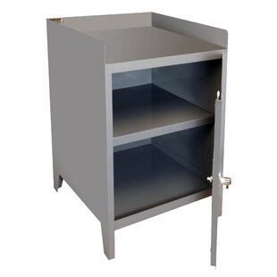 35.5 H x 24 W x 24 D Secure Mobile Bench Cabinet by Durham Manufacturing