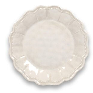 Cantu Heavy Mold Saville Scallop Luster Melamine Salad Plate (Set of 6)