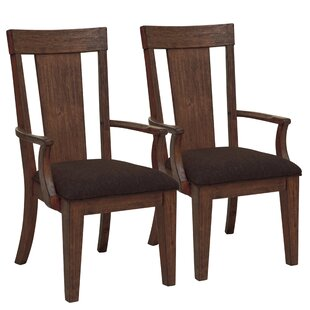 Wyckoff Upholstered Wood Dining Chair (Set of 2)