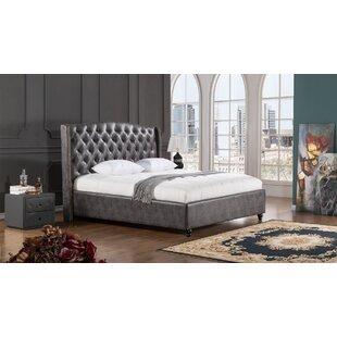 American Eagle International Trading Inc. Drake Upholstered Platform Bed