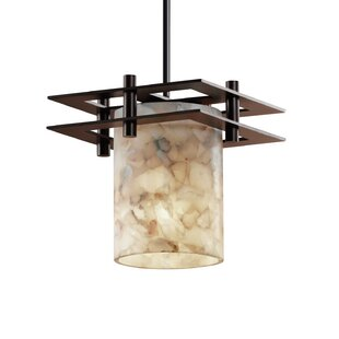 Rosecliff Heights Conovan 1-Light Cylinder Pendant