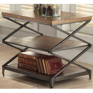 Clayton End Table by Brayd..
